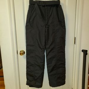 Columbia black snow pants